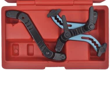 Universal Car Twin Camshaft Locking Tool Set Cam Engine Timing Sprocket Gear Kit[4/5]