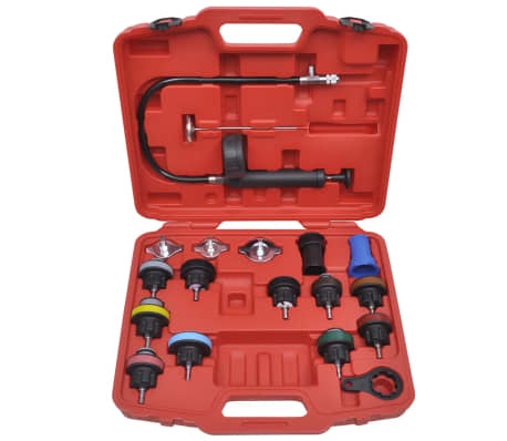 18 pcs Radiator Pressure Tester Kit[2/6]