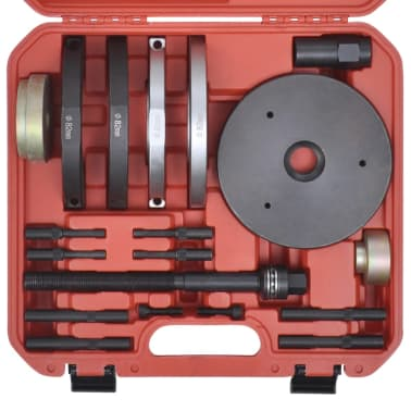 vidaXL GEN2 Verktygssats för kompakthjullager 82mm 19st Ford, Volvo[4/5]