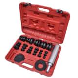 vidaXL 37 Piece Bushing and Bearing Seal Drivers Tool Set