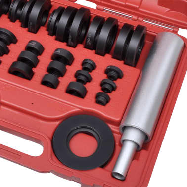 vidaXL 37 Piece Bushing and Bearing Seal Drivers Tool Set[3/4]