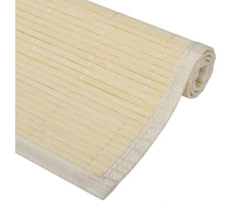 6x Platzdeckchen Bambus Platzdecke Tischset Platzset Tischmatte