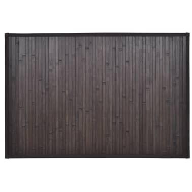 Bambukinis Vonios Kilimėlis, 60 x 90 cm, Tamsiai Rudas[2/5]