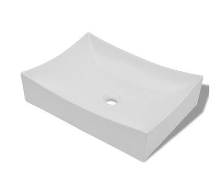 Bathroom Ceramic Porcelain Sink Art Basin White[2/5]