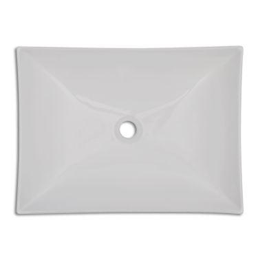 Bathroom Ceramic Porcelain Sink Art Basin White[4/5]