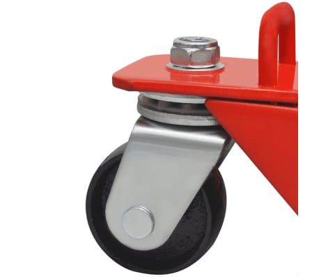 vidaXL Cric hydraulique de moto / VTT 680 kg Rouge[6/6]