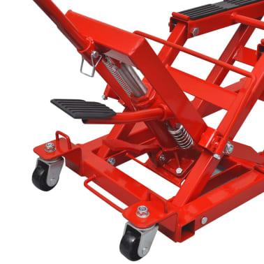 vidaXL Cric hydraulique de moto / VTT 680 kg Rouge[3/6]