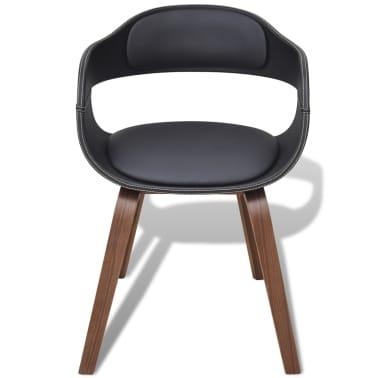 6 x bugholz esszimmerst hle mit kunstleder bezug g nstig kaufen. Black Bedroom Furniture Sets. Home Design Ideas