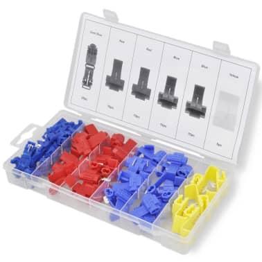 65tlg Abzweigverbinder Sortiment Kabel-Verbinder Schnellverbinder Set[1/4]