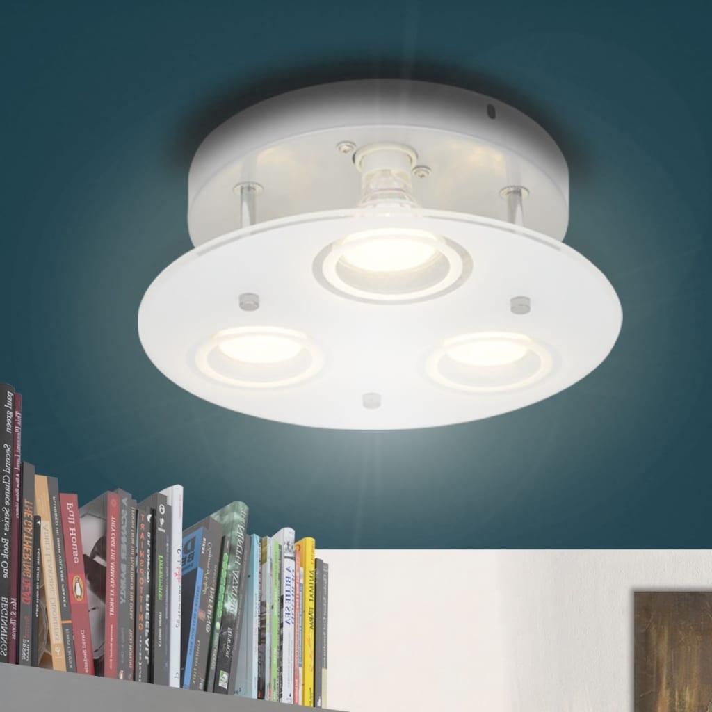 Kulaté stropní LED svítidlo se 3 žárovkami