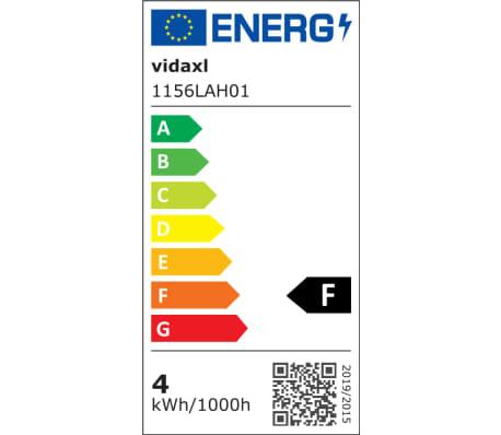 2 Vägglampor i industri-design med LED-glödlampor svart[11/13]