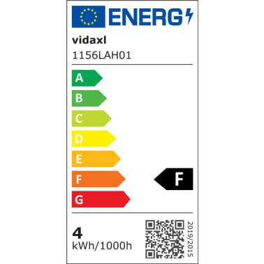 Sienas lampas, 2 gab., LED spuldzes ģeometriskos ietvaros, melnas[11/13]