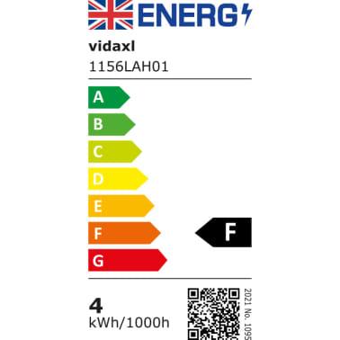 2 Vägglampor i industri-design med LED-glödlampor svart[12/13]