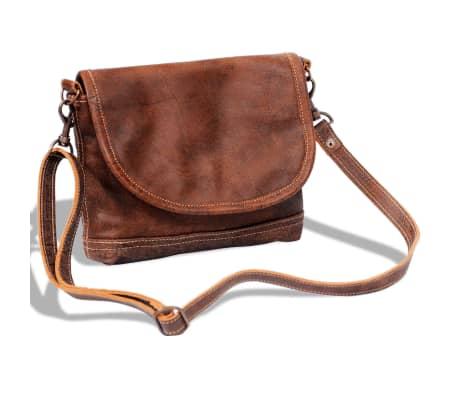 e4c1c704ab7b1 Skórzana torba na ramię z klapą sklep internetowy | vidaXL.pl