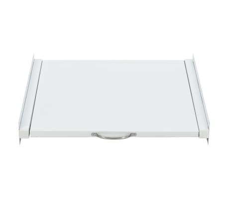 vidaXL Kit pour tour de lavage-séchage avec étagère coulissante[2/4]