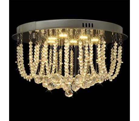 Stropné LED svietidlo - krištáľový luster s priemerom 45 cm[1/9]