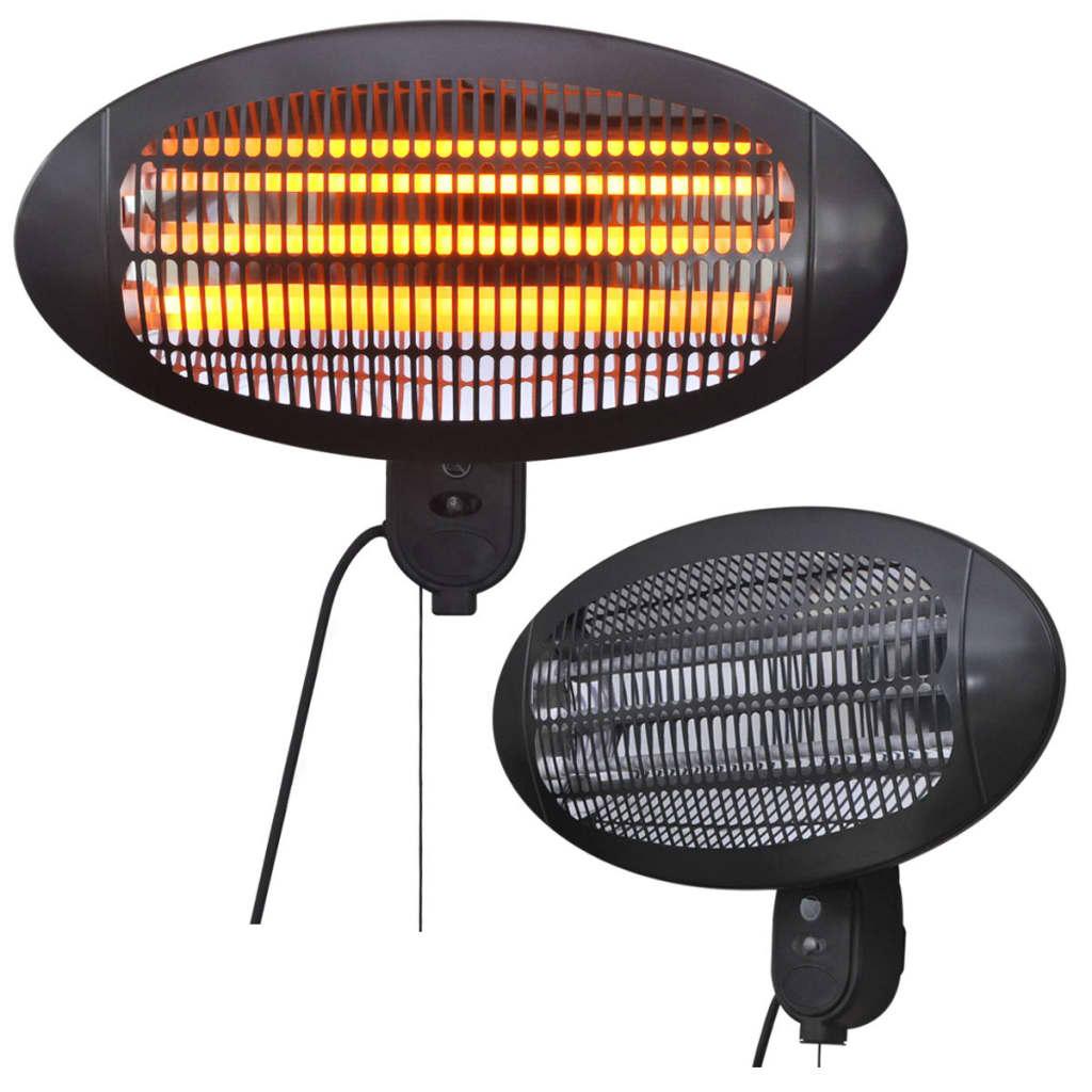 Nástěnný elektrický infračervený terasový ohřívač 2 kW