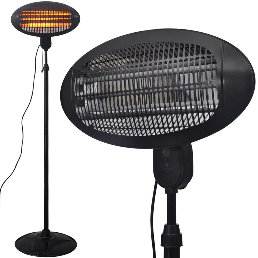 Volně stojící elektrický infračervený terasový ohřívač 2 kW