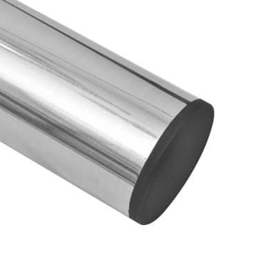 2 Teleskopinės Stalo Kojos, Matinis Nikelis, 710 - 1 100 mm[5/5]