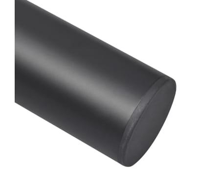 2 Teleskopski Nogi za Mizo Črne Barve 710 mm - 1100 mm[5/5]