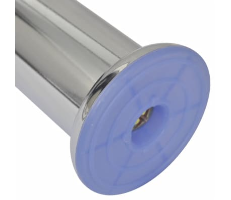 4 Patas Redondas para Sofá 120 mm (Color Cromo)[2/3]