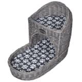 Macskabútor / ágy / kaparófa párnával lépcső alakú