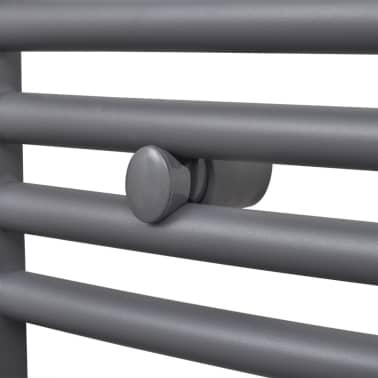 Pilkas Radiatorius, Rankšluosčių Džiovykla Vonios Kambariui 600x1160mm[4/9]