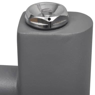 Pilkas Radiatorius, Rankšluosčių Džiovykla Vonios Kambariui 600x1160mm[6/9]