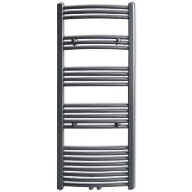 Pilkas Radiatorius, Rankšluosčių Džiovykla Vonios Kambariui 600x1424mm[2/9]