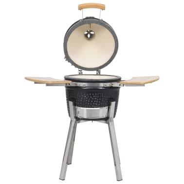 Kamado barbecue grill røgeovn keramisk 81 cm[2/8]