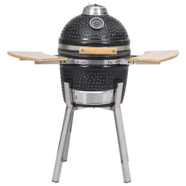 Kamado barbecue grill røgeovn keramisk 81 cm[3/8]