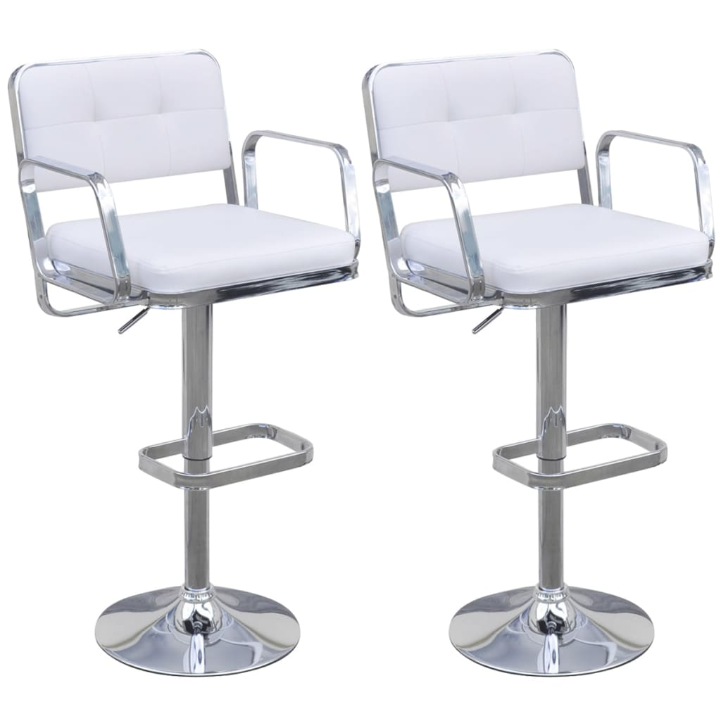 vidaxl-2-height-adjustable-swivel-bar-stools-with-armrests-white