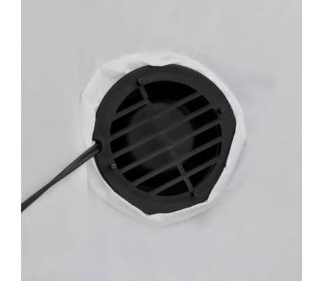 vidaXL Ilmatäytteinen lumiukko 240 cm[3/4]