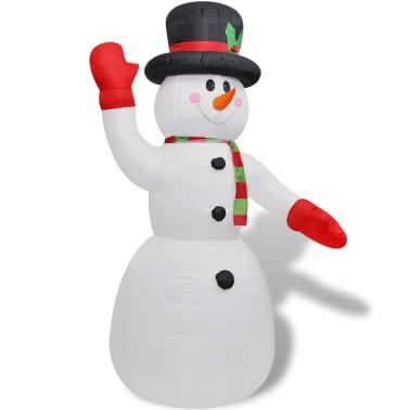 vidaXL Ilmatäytteinen lumiukko 240 cm[2/4]