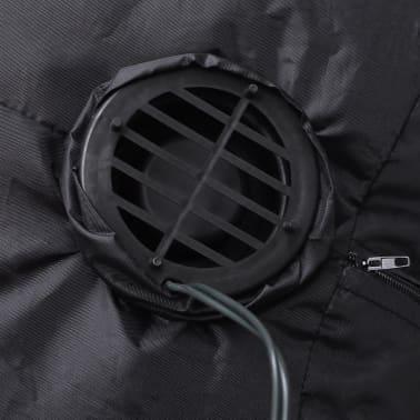 Täispuhutav jõuluvana redeliga, 120 cm[3/4]