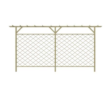 acheter cl ture en treilles avec pergola en bois pas cher. Black Bedroom Furniture Sets. Home Design Ideas