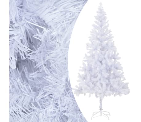 "vidaXL Artificial Christmas Tree with Steel Stand 82.7"" 910 Branches[2/8]"