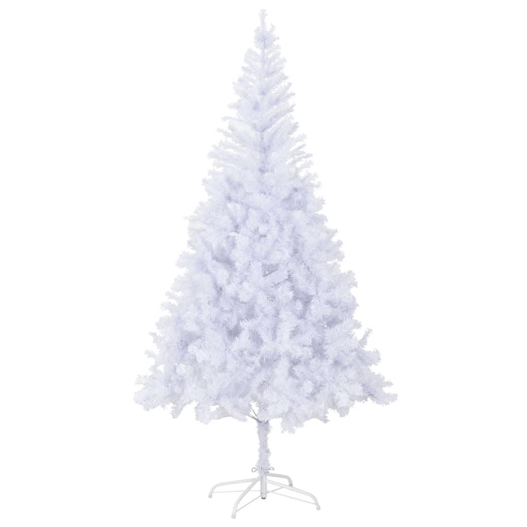 vidaXL Umělý vánoční stromek s ocelovým stojanem 210 cm 1210 větviček