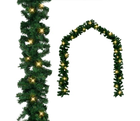 vidaXL Guirlande de Noël avec lumières LED 5 m-picture