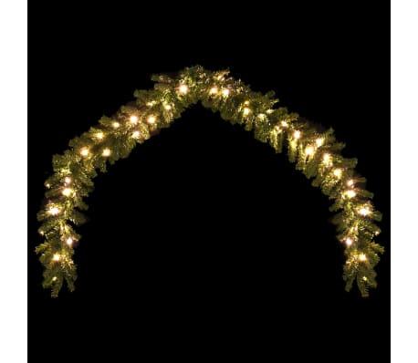 vidaXL Weihnachtsgirlande mit LED-Lichtern 5 m[3/6]