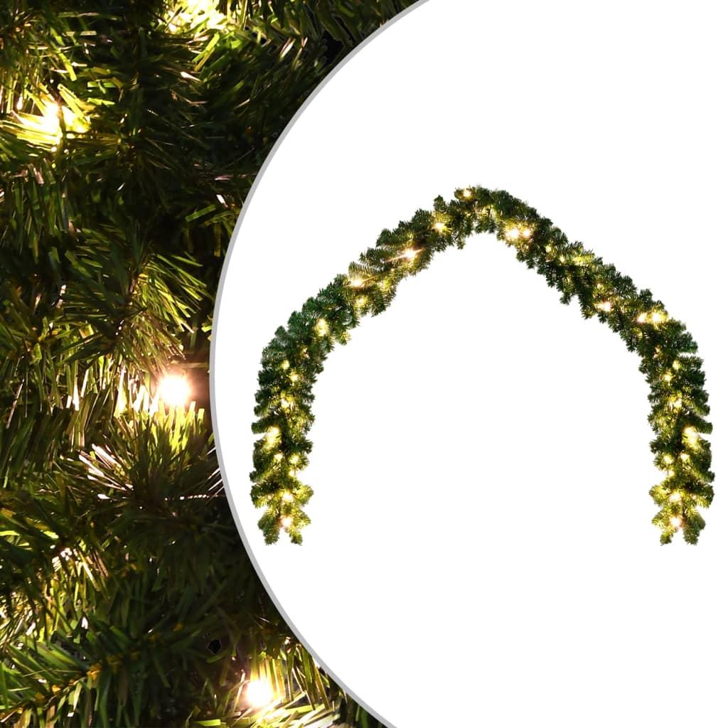 vidaXL Vánoční girlanda s LED světýlky 10 m