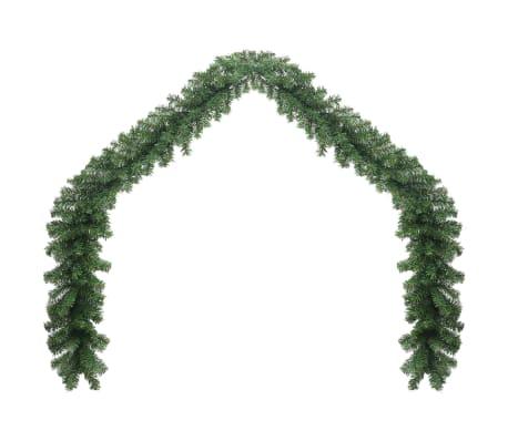 Weihnachtsgirlande mit LED-Lichterkette 10 m[2/6]
