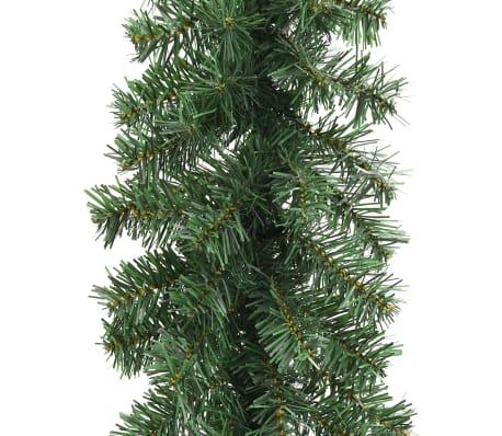 Weihnachtsgirlande mit LED-Lichterkette 10 m[4/6]