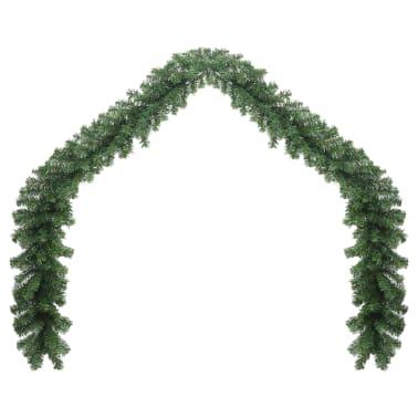 vidaXL Weihnachtsgirlande mit LED-Lichtern 10 m[2/6]