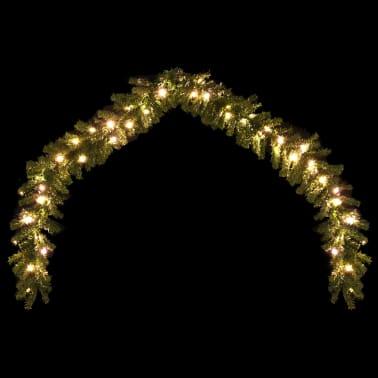 Weihnachtsgirlande mit LED-Lichterkette 10 m[3/6]