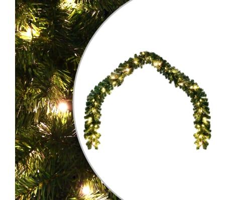 vidaXL Świąteczna girlanda z lampkami LED, 20 m[1/6]