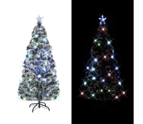 vidaXL Kunstig juletre med stativ/LED 150 cm 170 grener