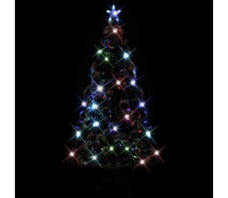 vidaXL kunstigt juletræ med fod/LED 150 cm 170 grene[2/7]
