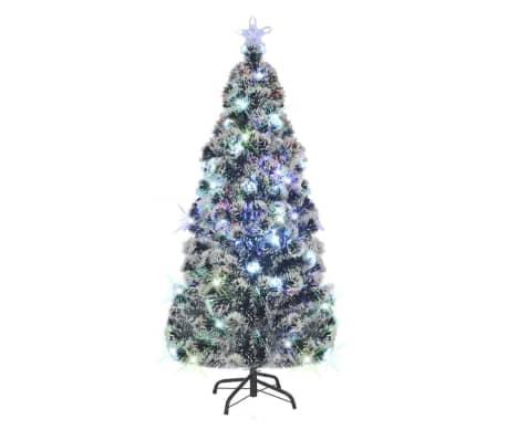 vidaXL Albero di Natale Artificiale con Supporto/LED 180 cm 220 Rami[1/8]