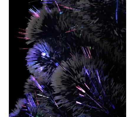 vidaXL Albero di Natale Artificiale con Supporto/LED 180 cm 220 Rami[6/8]